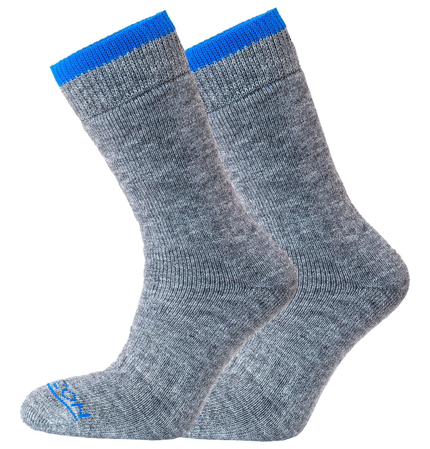 Merino Outdoor 2pk – Grey/Royal
