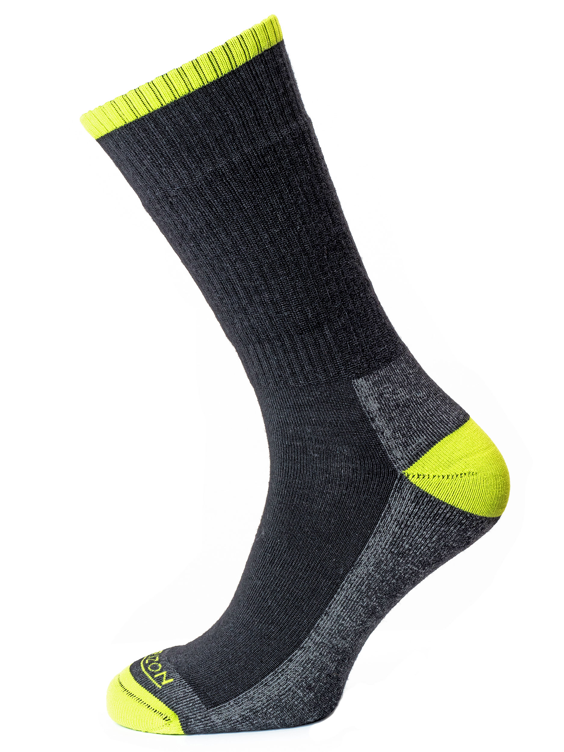 Merino Hike Anthracite Marl/Lime