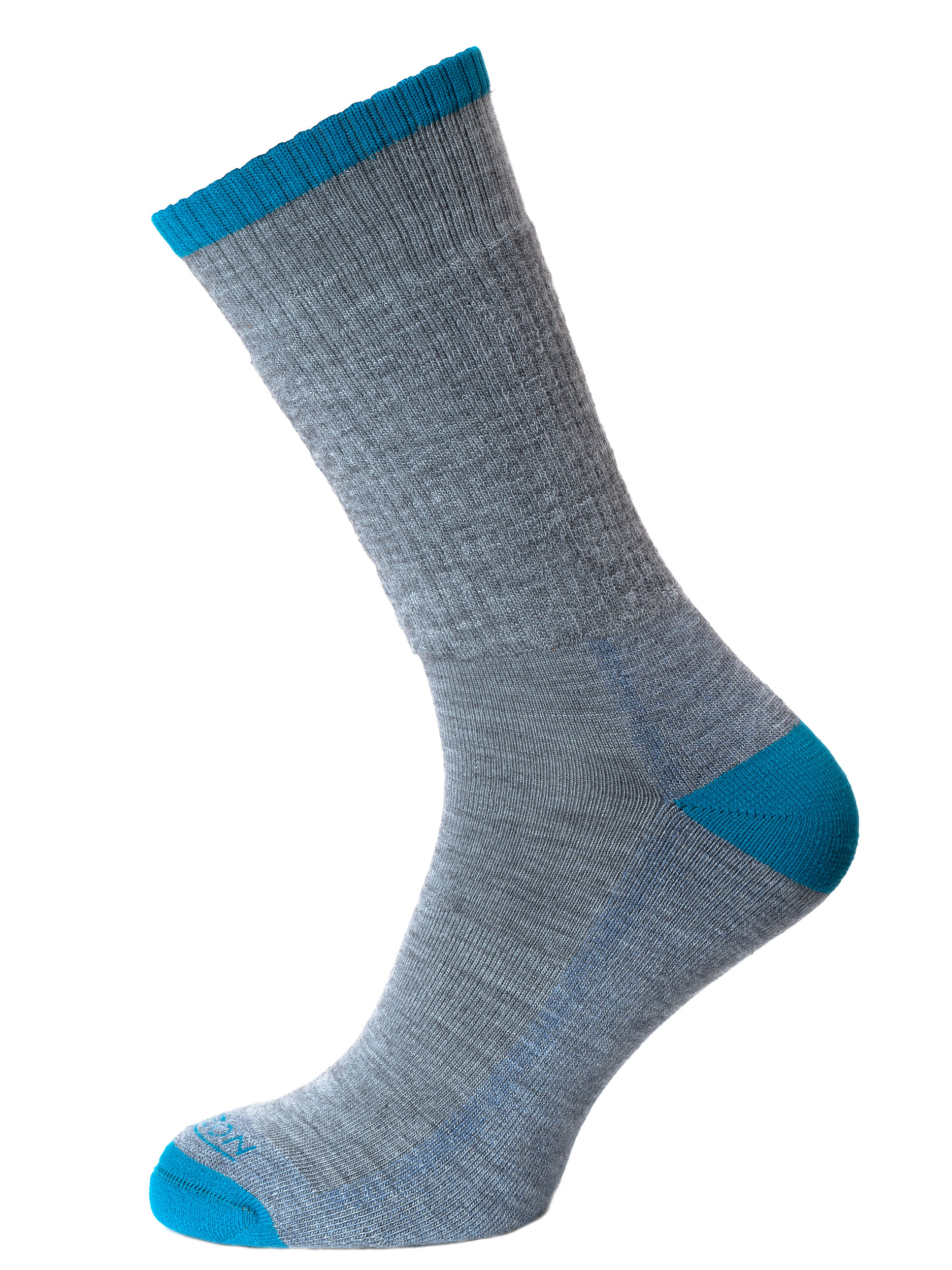 Merino Hike Grey Marl/Teal