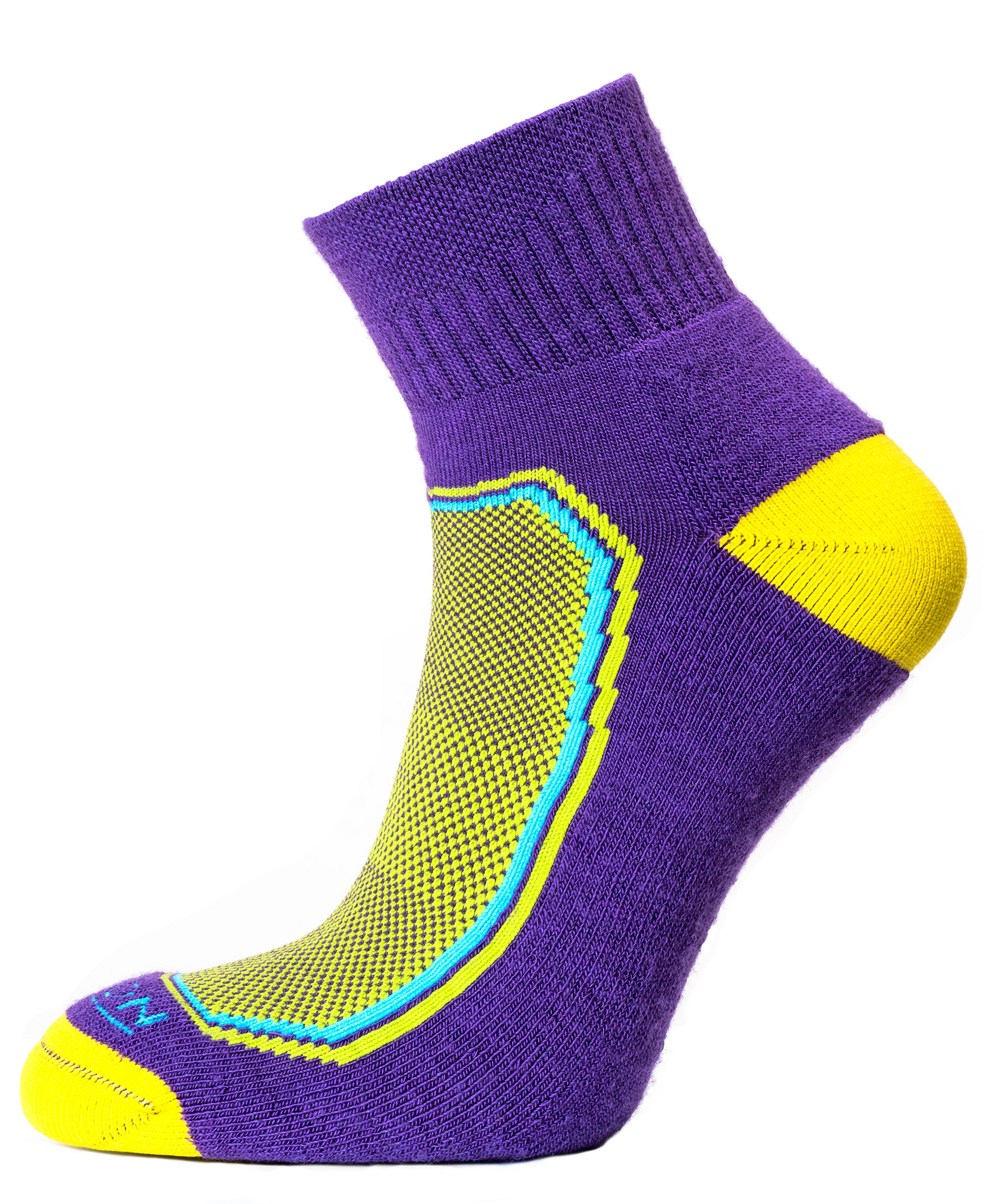 Quarter-Purple-Yellow