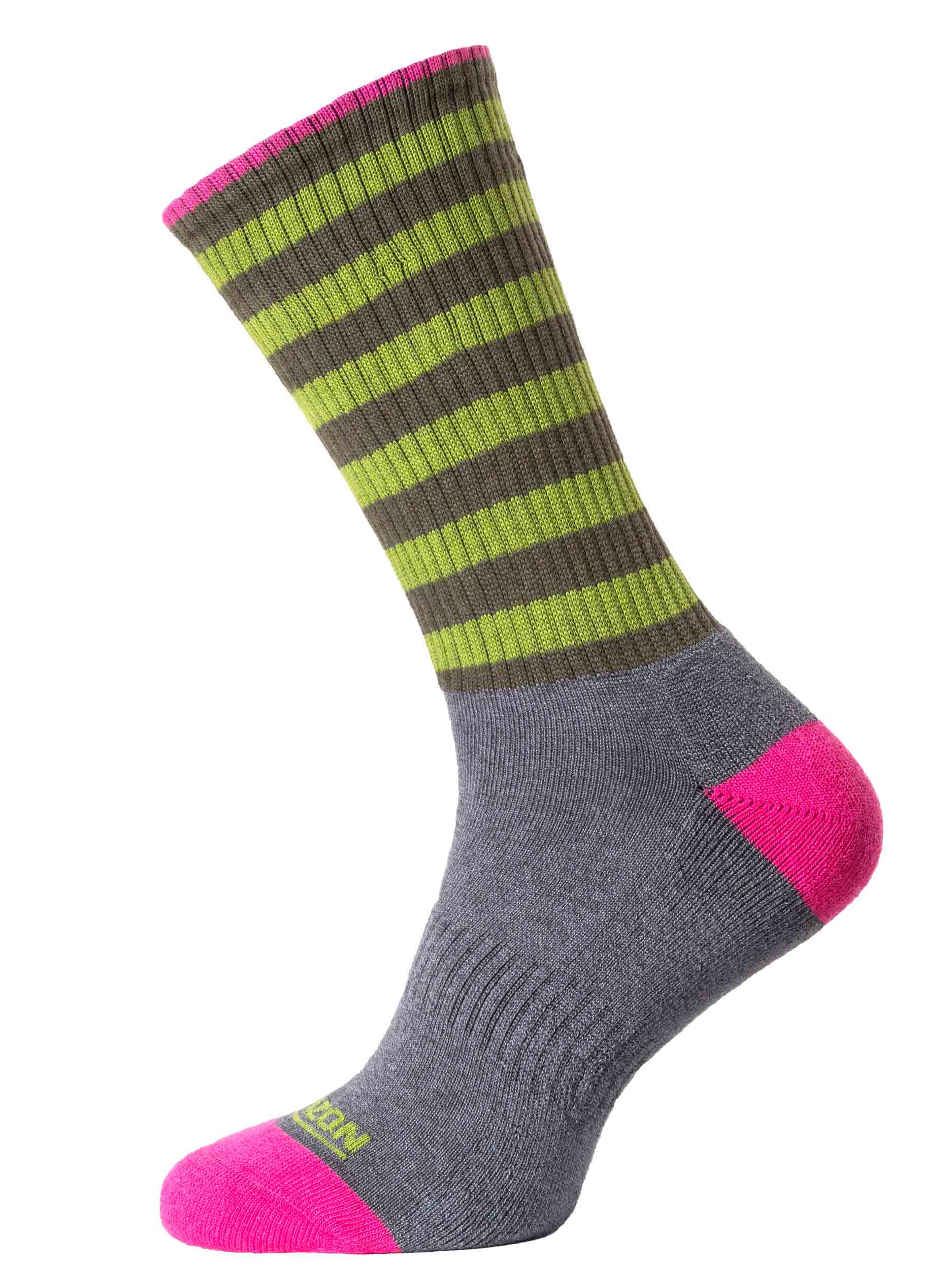 Horizon Leisure Bamboo Mens Sock Charcoal Apple