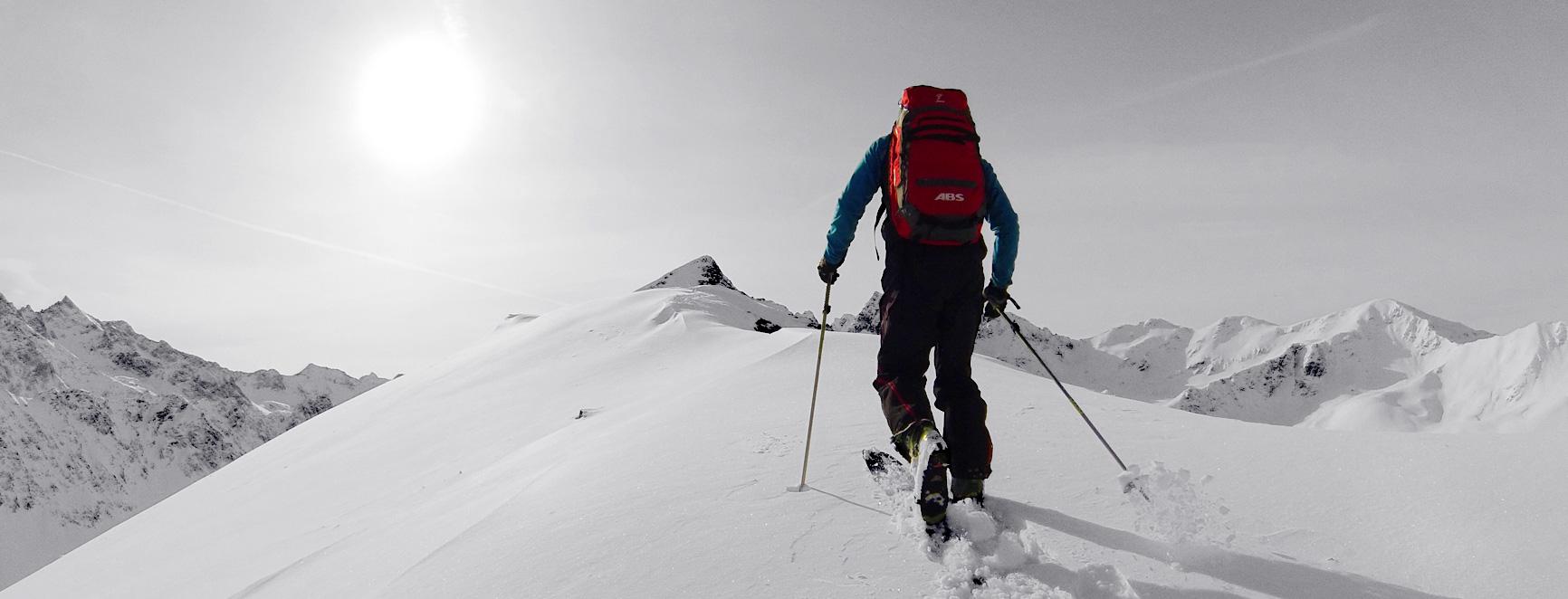 Snow Trekking Banner