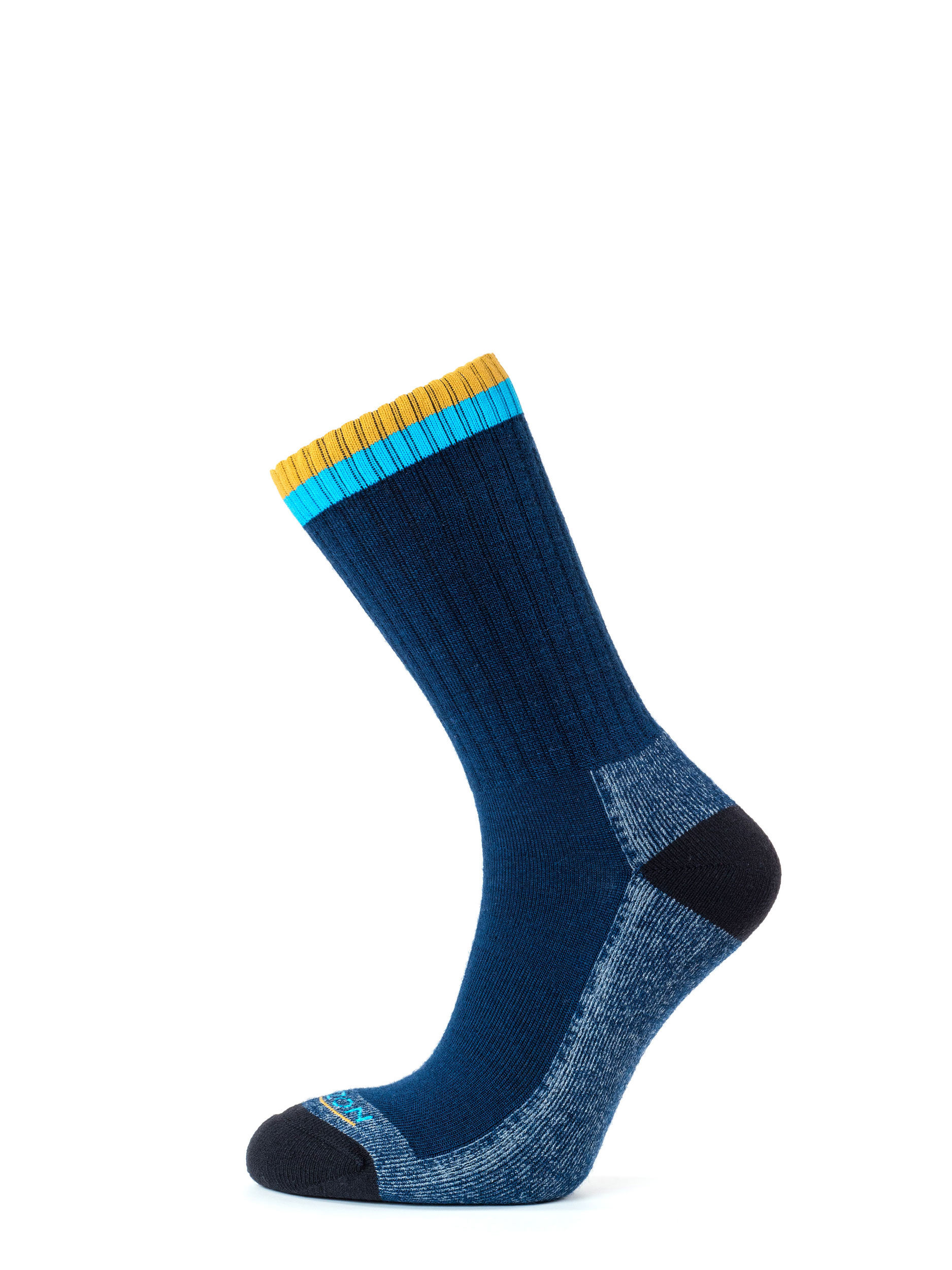 Tactical Merino Micro Crew Socks Navy Amber