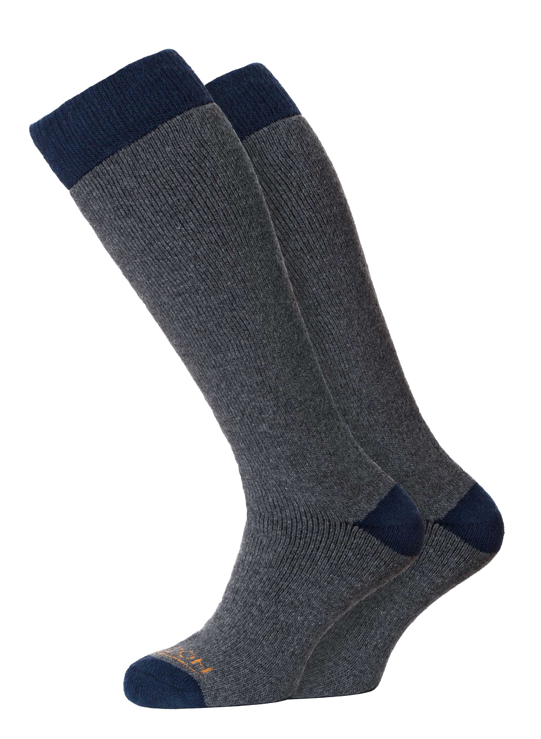 Winter Sport Merino 2pk Charcoal/Navy