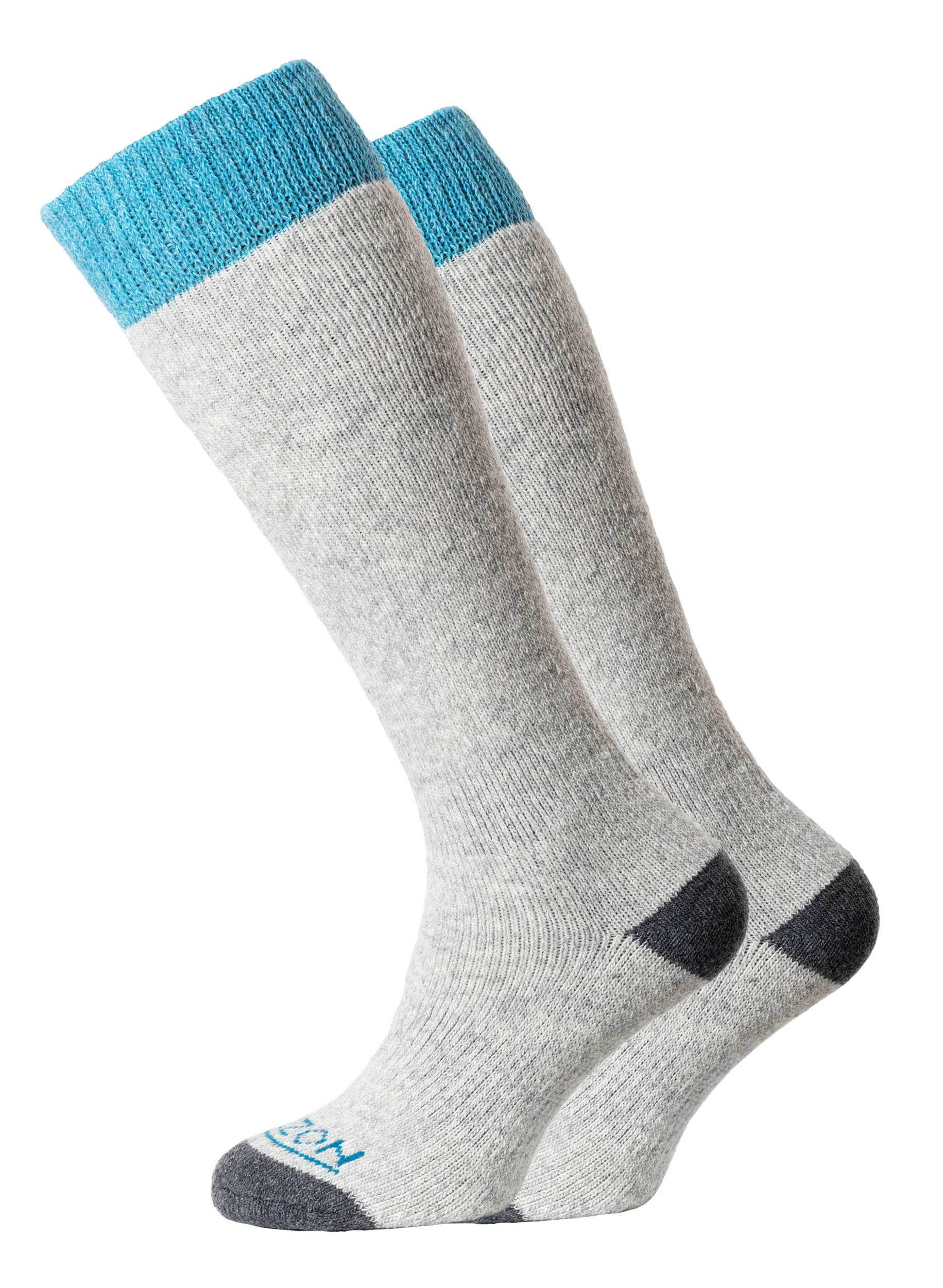 Winter Sport Merino 2pk Grey/Teal