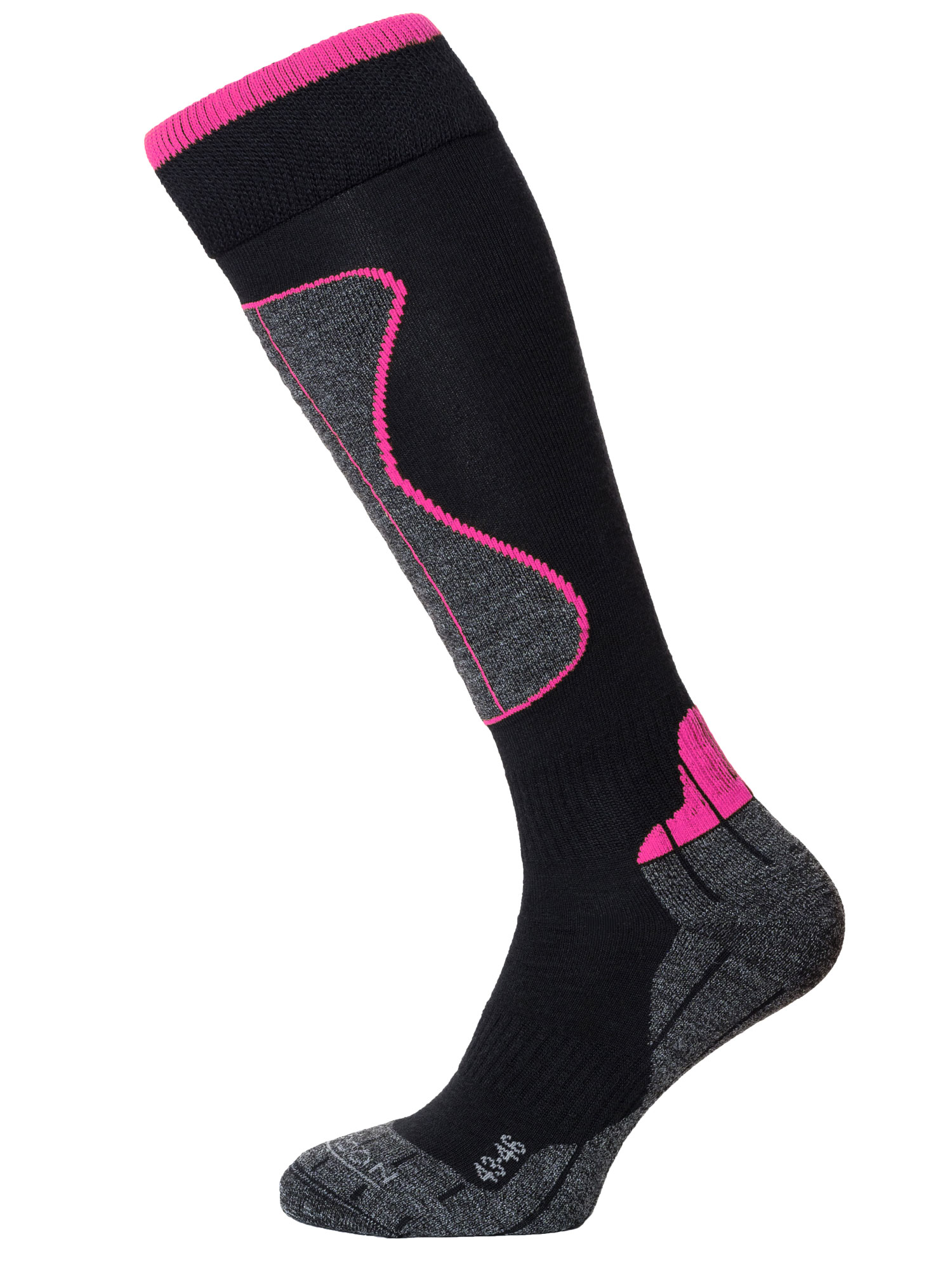 Winter Sport Technical Merino – Black / Cerise