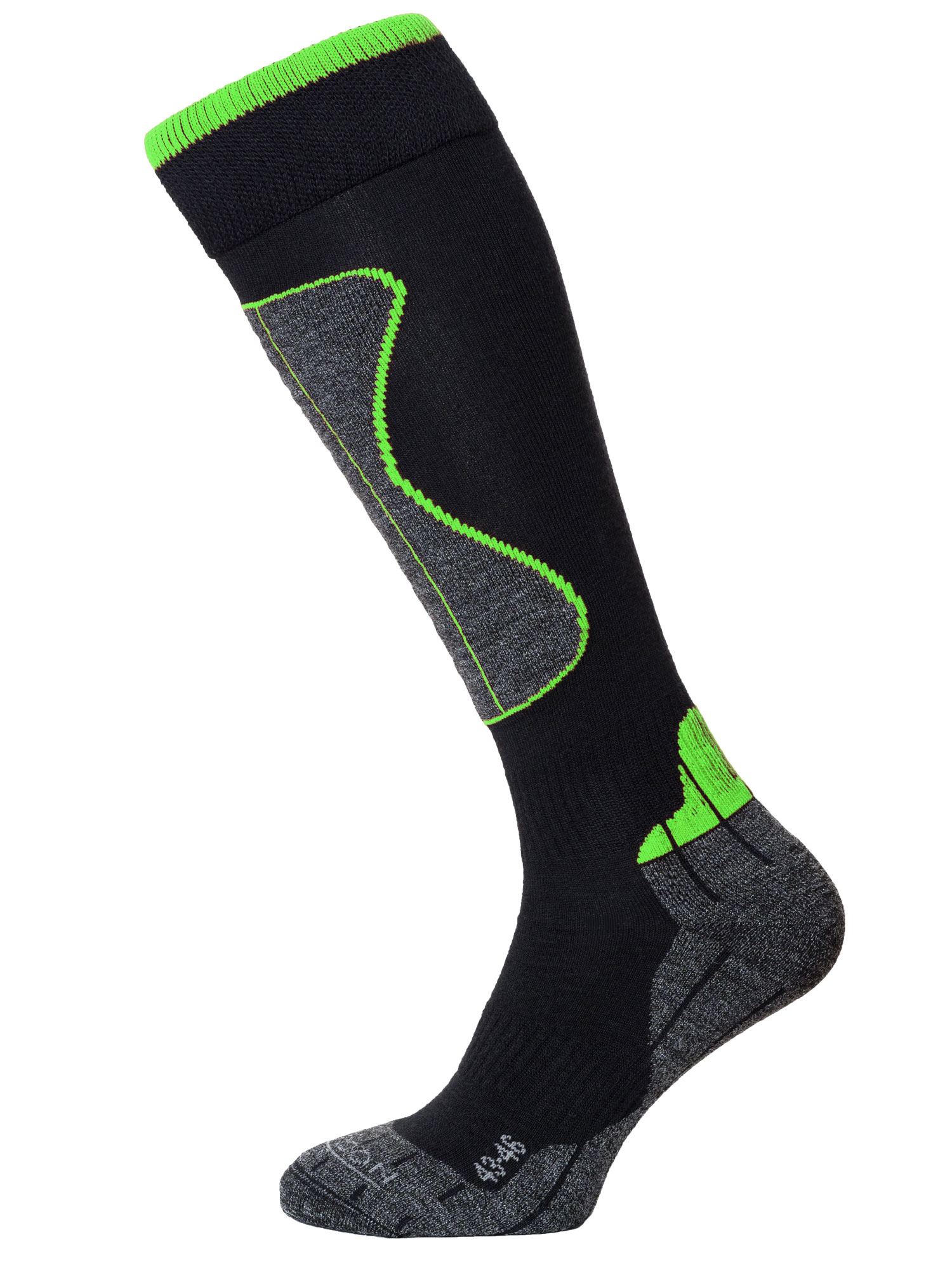 Winter Sport Technical Merino – Black / Green