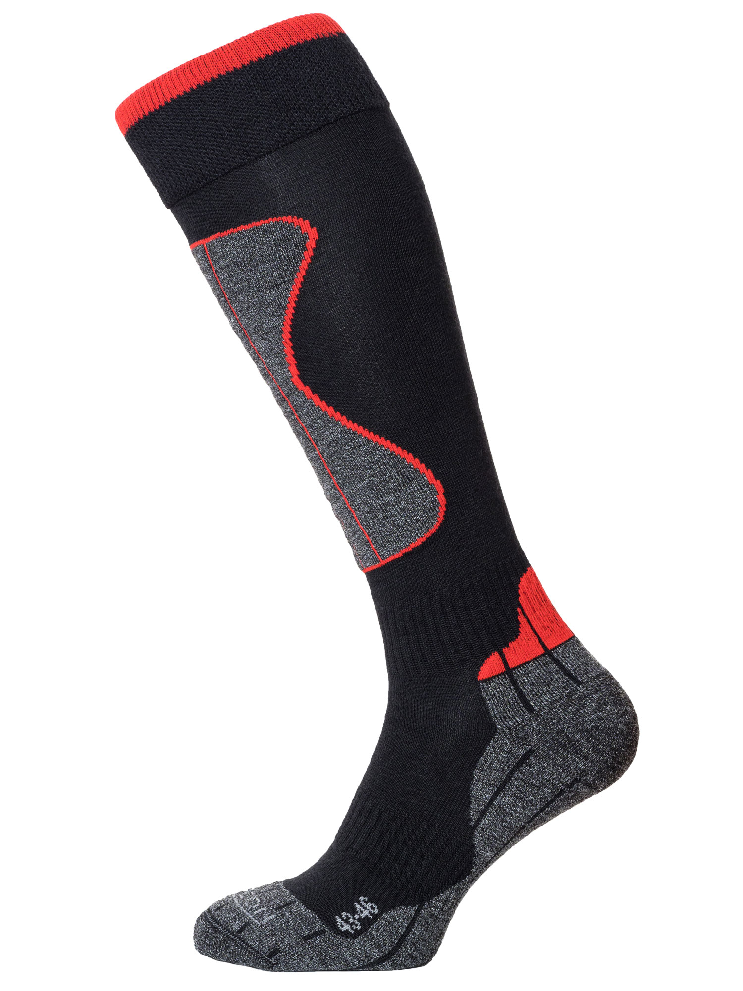 Winter Sport Technical Merino – Black / Red