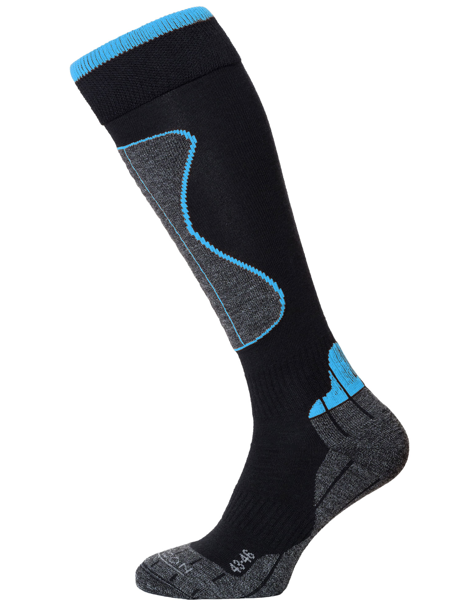 Winter Sport Technical Merino – Black / Turquoise