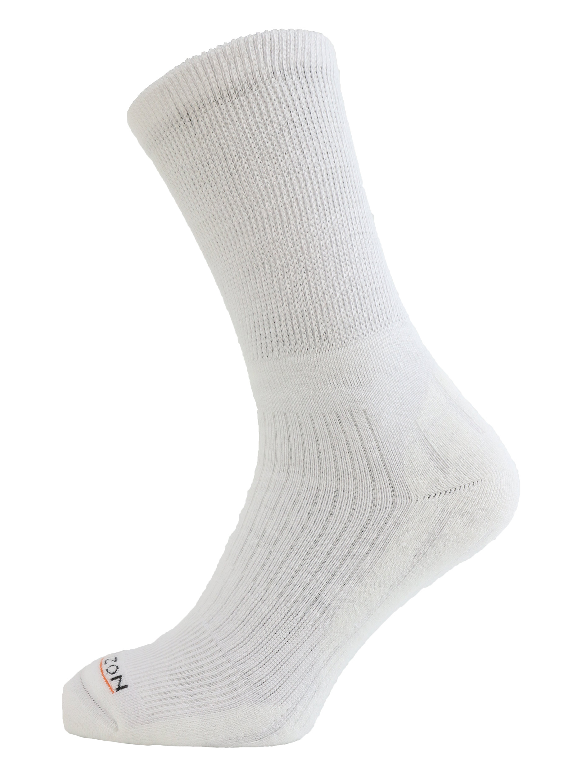 Performance Golf Coolmax Crew Sock White