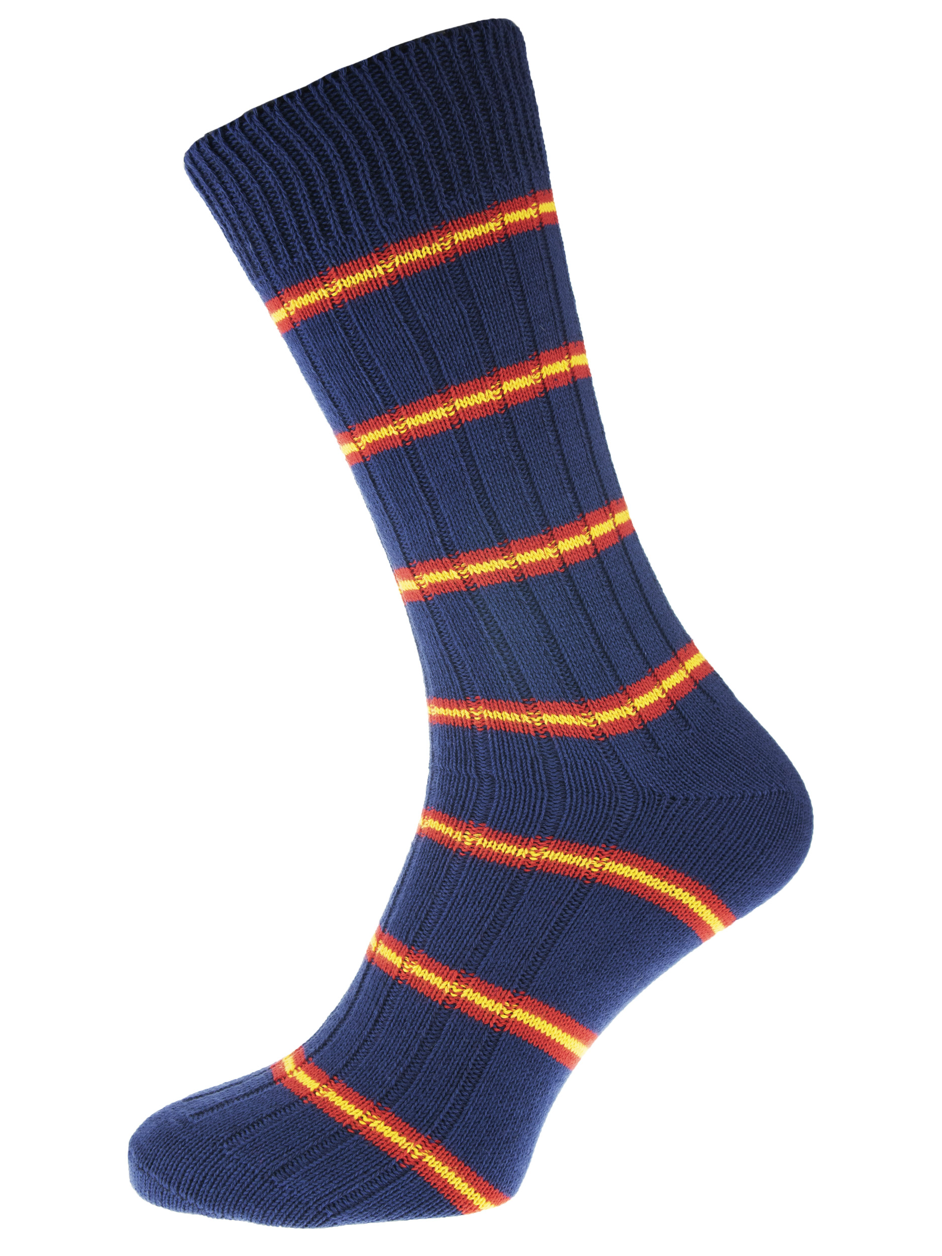 leisure lifestyle cotton sock navy