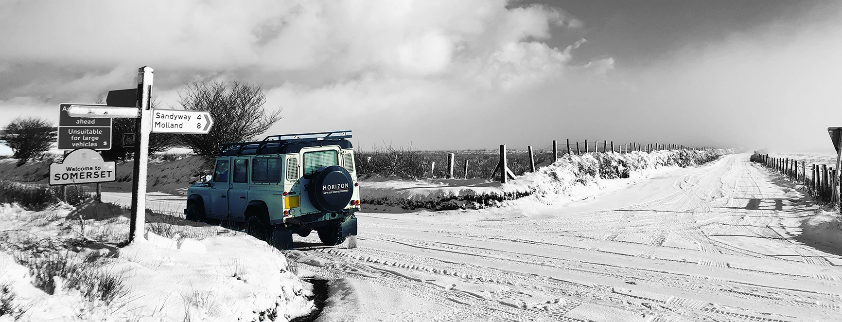 Land Rover Defender - Horizon - Snow - Somerset